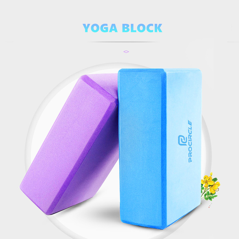 Balance Foam-Block Density Yoga Support Strength To EVA And Aid Poses Deepen Improve