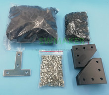Kit de Hardware tornillos, tuercas y soportes para piezas de Hardware de Proyecto de cubo BLV mgn para piezas de impresora 3D DIY CR10 Anet E12