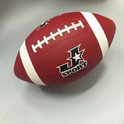 Для регби, спортивных мячей, официальный размер 9 резиновый, для американского футбола, мяч для регби, прочный регбийный для тренировок на от...