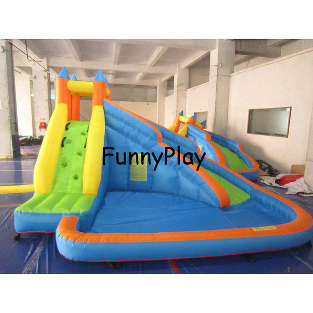 Inflatable Water Slide Usa: Châteaux Gonflables Toboggan Gonflable, Gonflable Toboggan