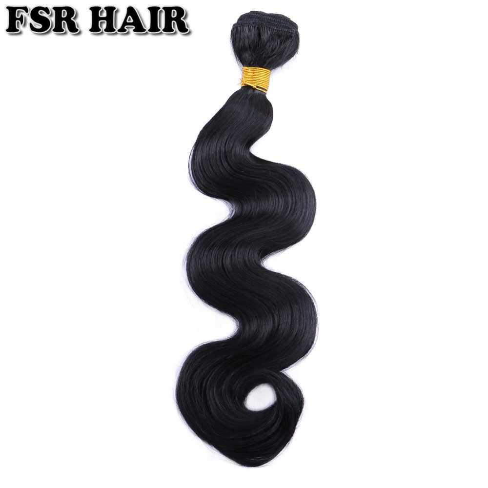 Black Body Wave Haar Weave 12-24 Inches Beschikbaar Synthetisch Haar Uitbreiding 100 G/stks Haar Product