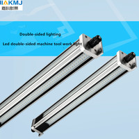 High quality CNC lathe led work light 28W waterproof explosion-proof high-power double-sided light strip bar machine tool lamp