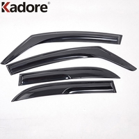 New Mugen Style Window Visor Vent Fit For SUZUKI SX4 HB Hatchback 4PCS