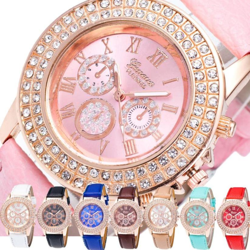 Watch Candy Color Male And Female Strap Wrist Watch ladies watches top brand luxury casual small wrist watches for women Fashion(China)