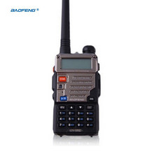 Upgrade Baofeng Uv-5r 10 Km Walkie Talkie Dual Band Two 2 Way Radio Handheld Transceiver For Ptt Stations Radio Pmr Walky Talky(China)