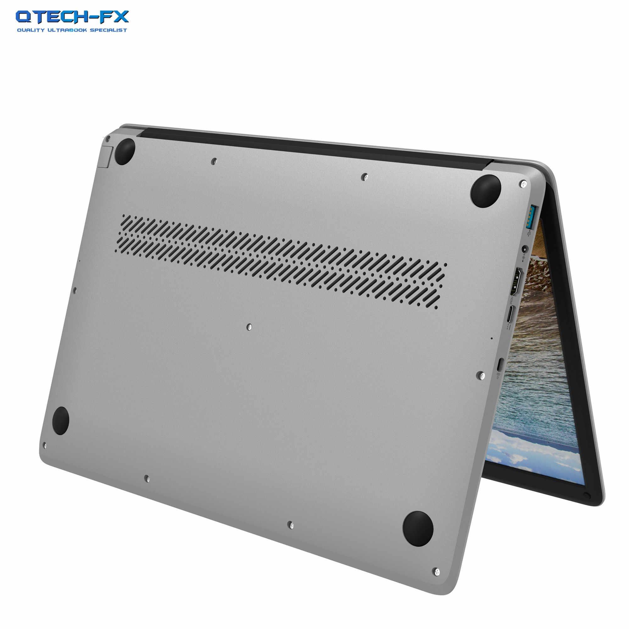 """גדול 15.6 """"Ultrabook 8GB RAM SSD 512 GB/128G מעבד אינטל פנטיום 4 Core Windows 10 עסקים ערבית AZERTY ספרדית רוסית מקלדת"""