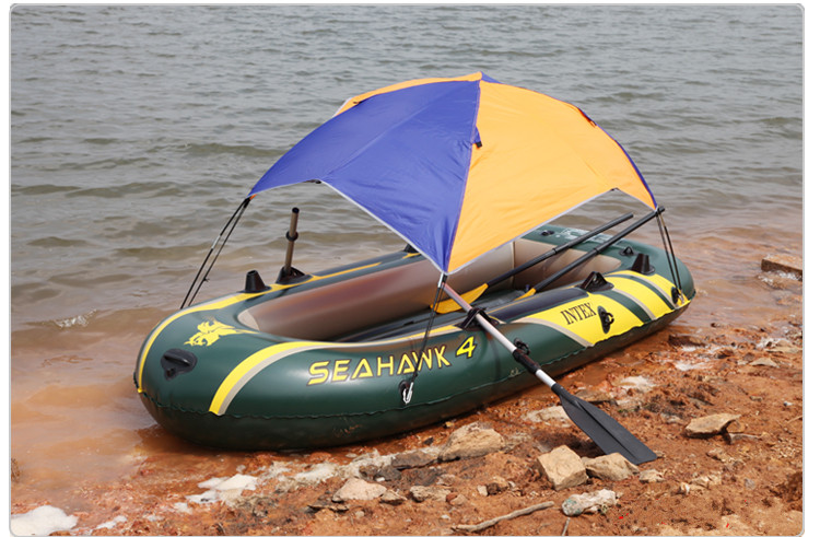 canoe kayak fishing boat inflatable boat special sunshade awning for 2/3/4/5/6 person boat