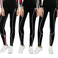 Women/Girls New Base Layer Pants Quick Dry Female's Sport Slim  Long Pants  Fitness Workout Trousers Black Jogger Leggings