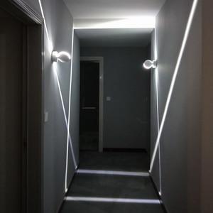 Image 4 - Modern LED Tavan Işık RGB Kısılabilir duvar Lambası iç mekan aydınlatması balkon Yatak Odası KTV otel koridor Yüzey Montajlı Uzaktan Kumanda