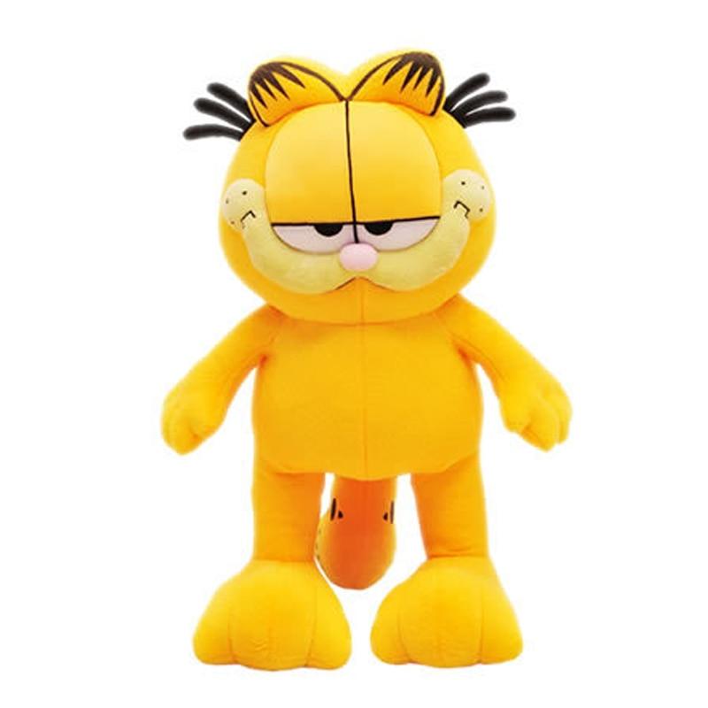 1pcs 12'' 30cm Plush Garfield Cat Plush Stuffed Toy Doll High Quality Soft Plush Figure gift for children Doll Free Shipping 9 23cm super mario bros grey brick plush toy soft stuffed doll 1pcs pack