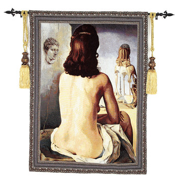 """The Sitting Room and Bedroom Characters Tapestry """"Funny Lady"""" 110X138cm GT-JR056"""
