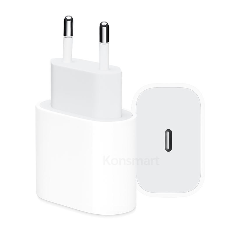 Original 18W Fast Charging PD Charger for Apple iPhone 8 Plus XR XS Max iPad Pro Genuine USB Type C Euro US Travel Power Adapter
