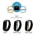 2017 Последним TW07 Smart Watch BT4.0 Водонепроницаемый IP56 Спорт Трекер Браслет Вызова Напоминание Сна Мониторинга для Android IOS