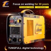 Tungfull eléctrico soldadores de arco máquina de soldadura inverter dc TIG Soldador argón máquina de soldadura para la Soldadura de Trabajo y Eléctrica Wor