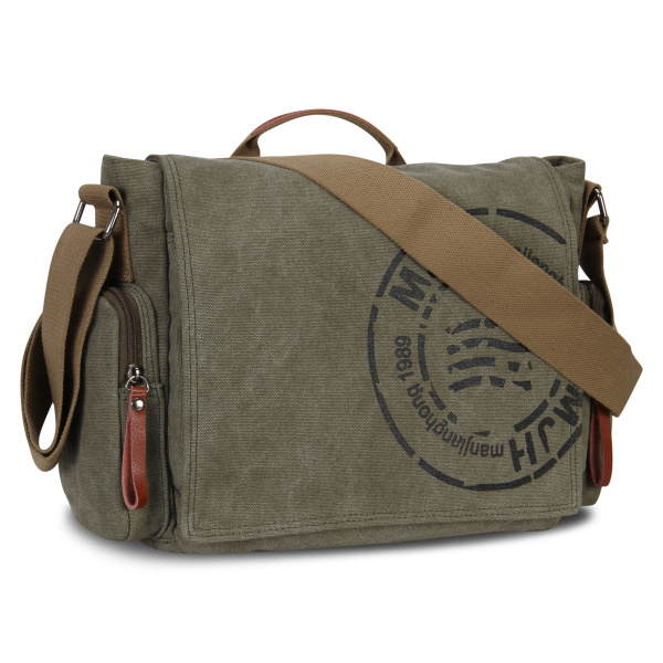 d73f149454a2 Men s Messenger Bags Canvas Shoulder Hand Bag Fashion Men Business Vintage  Crossbody Bag Printing Travel Handbag