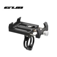 GUB G-84 Bicycle Handlebar Holder Adjustable Universal Bike Phone Stand For 3.5-6.2 inch Smartphone Aluminum Mount Bracket цены онлайн