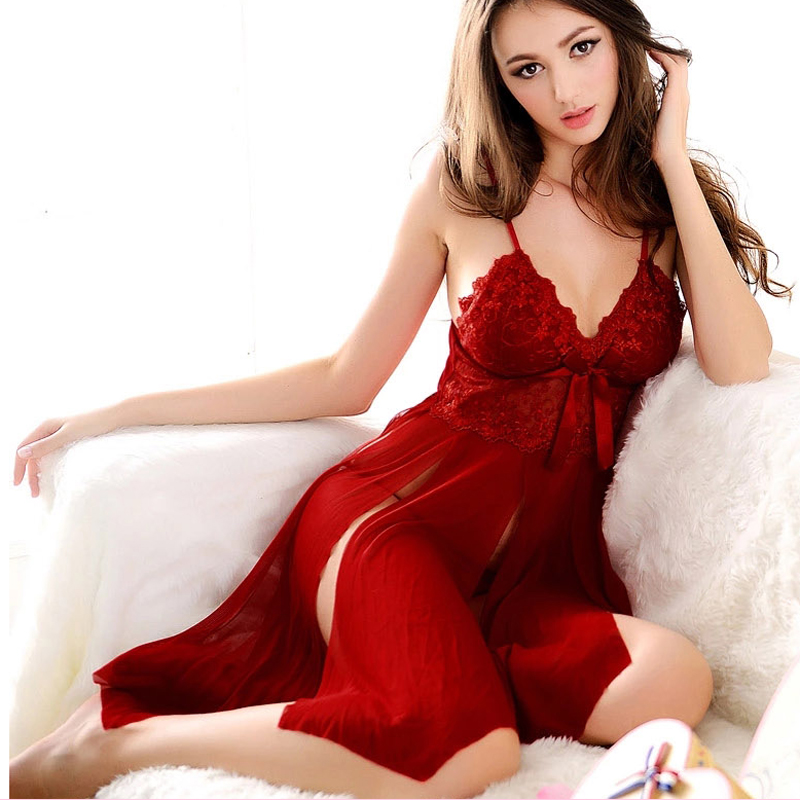 Erotic Lingerie Set Plus Size Sexy Underwear Women Langerie See Through Nightgown Sexy Sleepwear G Strings Nuisette Sexy Hot