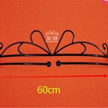 Япония, диаметр-60 см, простой, кованый железный каркас москитная сетка кровать мантия, дверь-занавес, Принцесса Железный режим