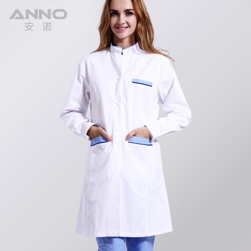 White Medical Lab Coat Clothing Plus size Long Nurse Doctors Coat Women Man Dental Disposable Lab Coat Scrubs