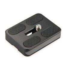 HFES yeni PU   50 hızlı bırakma plakası 50x38x10mm siyah