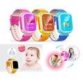 Bebê criança gps smartwatch q80 q60 smart watch relógio de pulso sos ligue Location Finder Locator Dispositivo Rastreador Criança Seguro Anti PK Q50