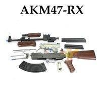 RENXIANG AKM 47 воды гель бластер для детей водяной пистолет для наружного применения Электрический лопающиеся игрушки