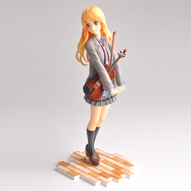 New arrival action figure your lie in april kaori miyazono cartoon doll PVC 20cm box-packed japanese figurine world anime