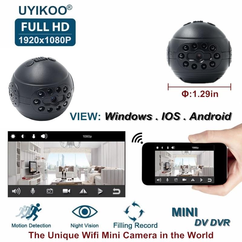 Nouveau Sans Fil Wifi Mini Caméra IP HD 1080 p DV DVR Secret Vidéo Petit Caméscope Avec Vision Nocturne de Détection de Mouvement PK C1 SQ12 Cam