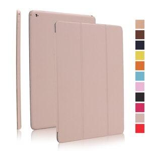 Image 5 - Dünne Intelligente Fall Abdeckung für iPad Pro 12,9 2015 2016, PU Leder Folding Folio Fällen für iPad Pro 12,9 2017 pro 11 12,9 2018 2020