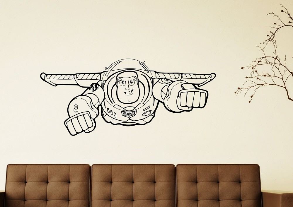 Toy Story,Sticker,Wall Art,Kids,Bedroom,Decal,Mural