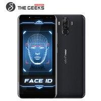 Ulefone Мощность 3 лицо/отпечатков пальцев ID 4G мобильный телефон 6,0 дюймов Экран 6080 мАч 6 ГБ + 6 4G B gps 21.0MP Камера Android 7,1 смартфон
