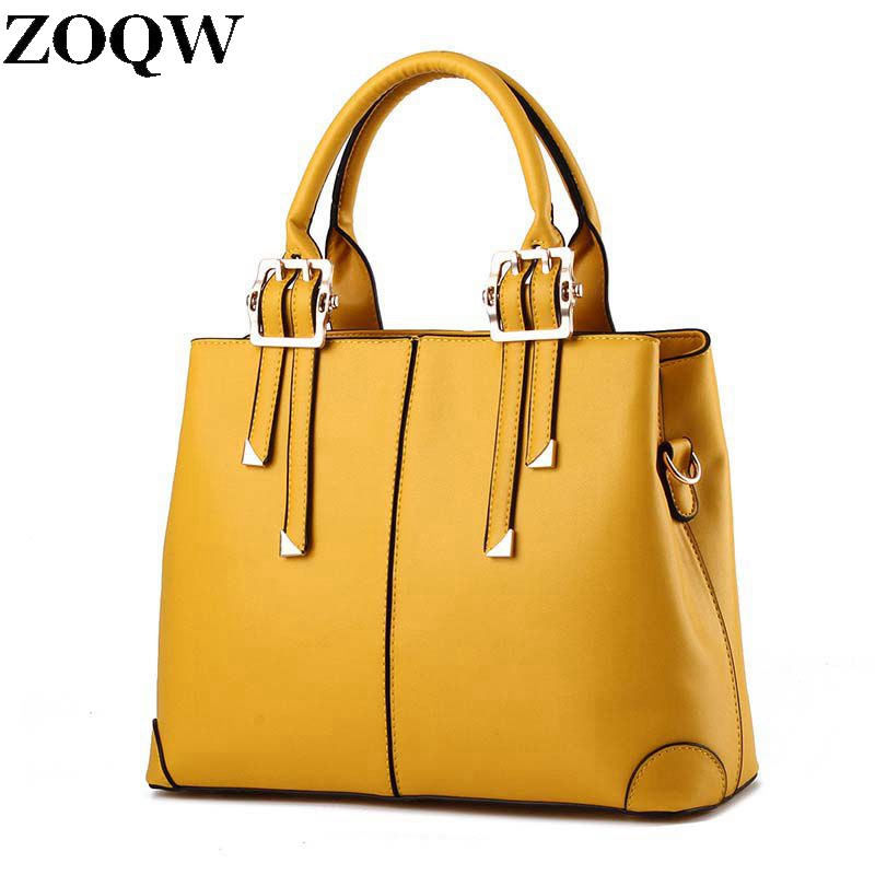 Cool Cowhide Leather Women Bags Camel