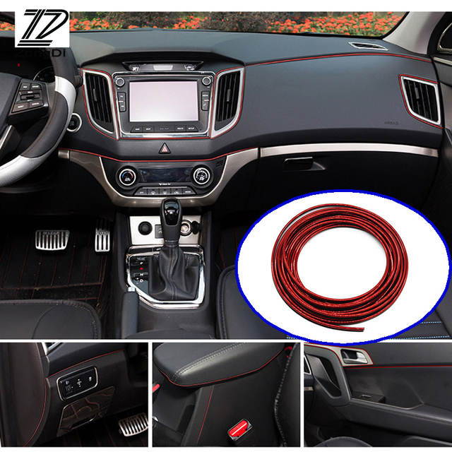 ZD 5M Interior Sticker Decoration Strip Car Styling For Volvo ...