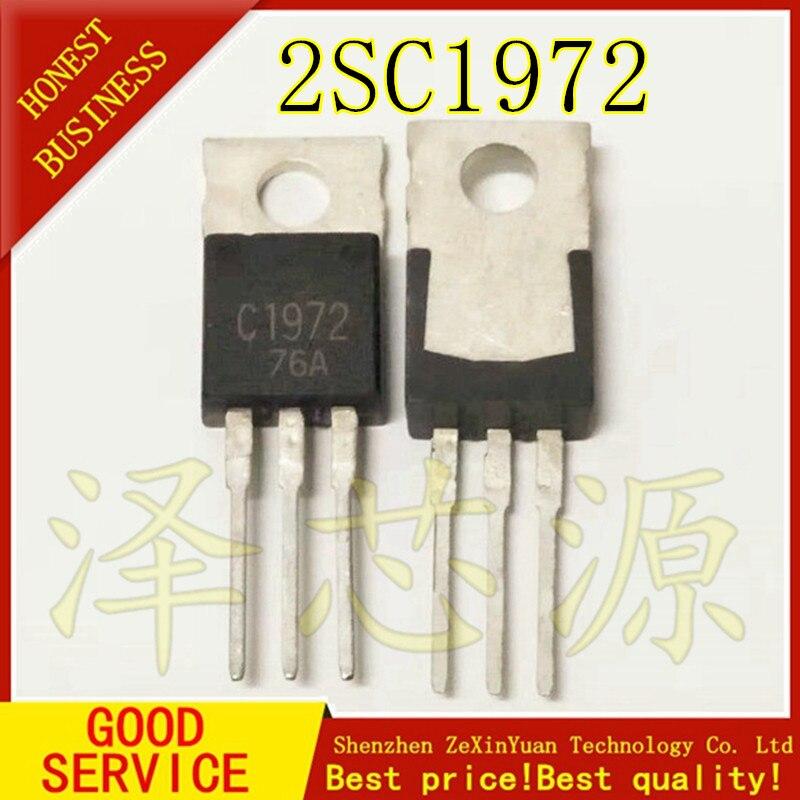 10 adet/grup 2SC1972 C1972 1972 TO220 En Iyi kalite10 adet/grup 2SC1972 C1972 1972 TO220 En Iyi kalite