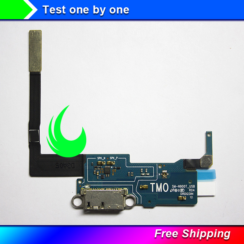 Original Note3 USB Charging Port Connector Dock Flex Cable Replacement For  Samsung Galaxy Note 3 N9005 N900 3G N900V N900T