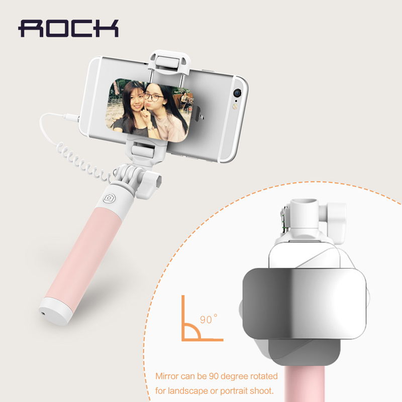 ROCK Universal Mini Mirror Selfie Stick For iPhone 5S 6 Plus Luxury - Տեսախցիկ և լուսանկար