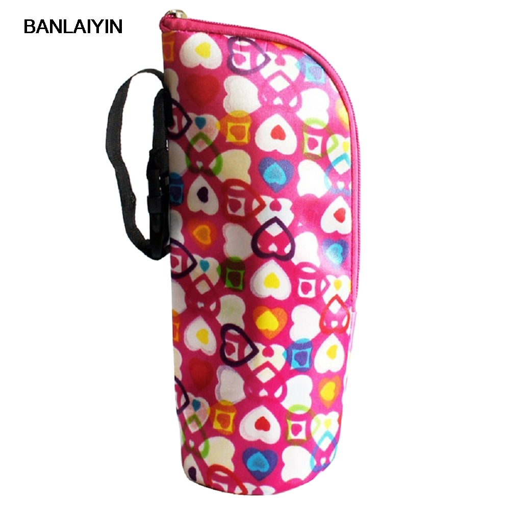 Thermos Bottle Warmer Baby Bags Insulators Totalizzatoredella Mummy Bag Baby Bottle Heart shaped