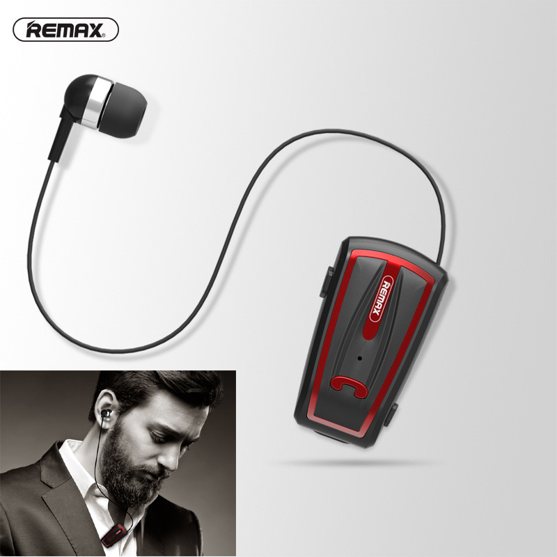 Remax Athlete sport Wireless Bluetooth Earphone Bluetooth 4.0 Collar Clip in Ear Handsfree Earbud for iphone 5 6 7 plus samsung exrizu s6 mini portable in ear wireless bluetooth earphone audio music sport handsfree for iphone xiaomi samsung galaxy s7 s6 s5
