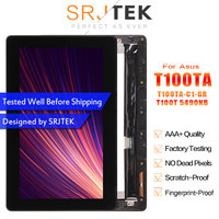 For ASUS Transformer Book T100 T100TA T100TA C1 GR T100T 5490NB LCD Display Touch Screen Assembly with Frame FP TPAY10104A 02X H