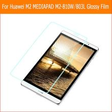 "Premium HD Clear Shiny display screen protector movie For Huawei M2 MEDIAPAD M2-801W 803L eight.zero"" pill entrance display screen protecting movies"