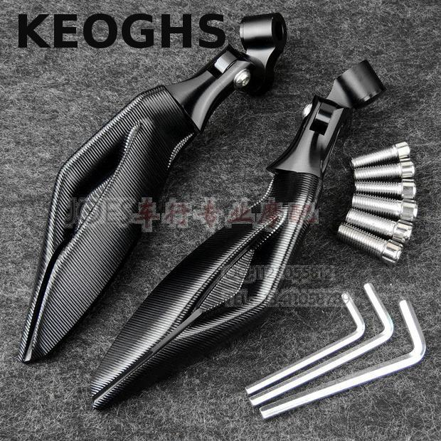 ФОТО KEOGHS Motorcycle Rear Mirror All Cnc Aluminum High Quality For Ducati Monster696/795/796