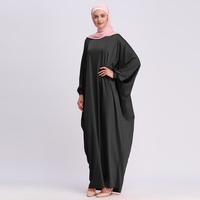 Kaftan Abaya Dubai Arabic Islam Turkey Long Hijab Muslim Dress Ramadan Abayas For Women Caftan Marocain Turkish Islamic Clothing 3