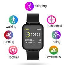 Smart Watches Men Watch Heart Rate Monitor Blood Pressure reloj Inteligent Waterproof Women Bracelet Smartwatch For iOS Android