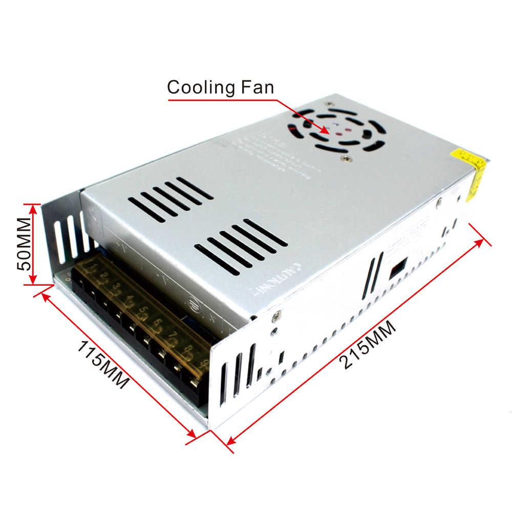 DC ПИТАНИЕ 12 В 24 в 36 в 48 в 300 Вт 360 Вт 480 Вт 400 Вт 500 Вт 600 Вт трансформаторы 110 В 220 В AC к источник питания постоянного тока для Светодиодные CCTV