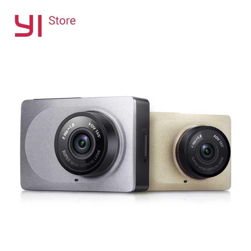 YI Traço Câmera de Vídeo Gravador De Wi-fi Inteligente Full HD DVR Carro Cam Night Vision 1080 P 2.7