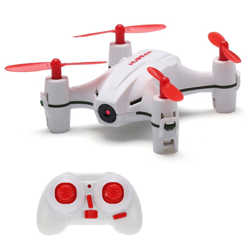 HUBSAN RC Drone Dron 2.4GHz 4CH 6 Axis Gyro Nano Brushed RC Quadcopter with Camera Headless Mode RTF Drones Kids Gifts RC Toys