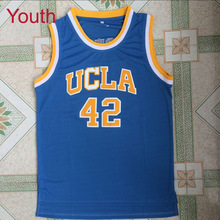 cc3fb8b7279c PADEGAO Youth Embroidery Stitched Kevin Love 42 Basketball Jerseys UCLA