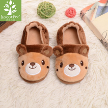 Kocotree Spring Autumn High-quality Warm Soft Indoor Fashion Floor Slippers For Boy Girls Kids Cartoon Shoes Children Slippers
