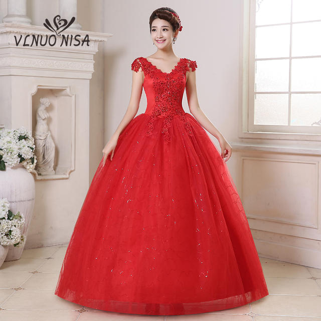 Plus Size Red Bridesmaid Dresses