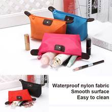 Fashion Cosmetic Toiletry Portable Beauty Makeup Pouch Functional Organizer Women Make Up Bag Kit Handbag